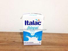 Passo 1 - Como fazer casinha de passarinho com caixa de leite