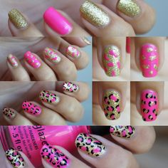 DIY Nail Art | Leopard Nails Pink 'Kitty Kitty' ~ Beautyill | Beautyblog met nail art, nagellak, make-up reviews en meer!