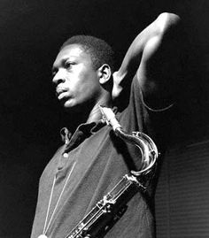 Have always found Coltrane a tremendous inspiration -- and this is one of my favorite pictures of a musician.