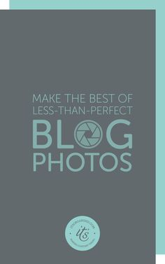 Photos don't always need to be technically 'perfect' in order to be useful as a blog image. You'll be surprised what you can improve, disguise, or even just hide, using these quick and easy Photoshop techniques.