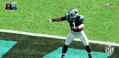 New party member! Tags: nfl dab panthers carolina panthers dabbing cam newton wait for it keep pounding