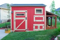 Chalkboard Blue: Chicken Coop/Shed  If we ever lived on an acreage.:)