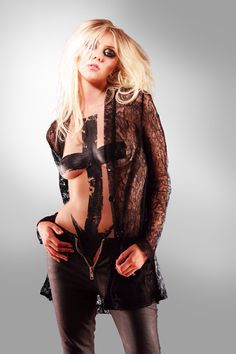 Taylor Momsen from The Pretty Reckless. I cannot wait till their new album is released!!