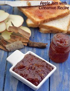 Apple Jam with Cinnamon Recipe, Vegan and Gluten Free