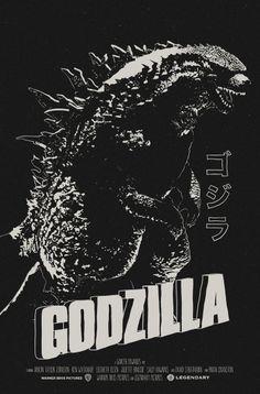 Godzilla Poster | Godzilla 2014 Movie