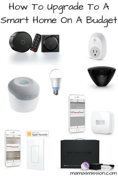 How To Upgrade To A Smart Home On A Budget - 10 Amazing Products! If you've been looking for how to upgrade to a smart home on a budget, look no further! Here are 10 budget friend products every smart home needs. Wall E, Smart Home Technology, Technology Gadgets, Home Gadgets, Tech Gadgets, Cooking Gadgets, Cooking Tools, Smart Home Design, Best Smart Home