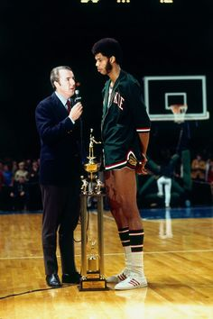 Check out our gallery of NBA Legends then & now. Here's Kareem Abdul-Jabbar in 1971!