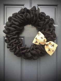Black Halloween Wreath, Black Burlap Wreath, Halloween Wreaths, Spiders, Spider Wreath, Cute Halloween Wreath by WreathsByRebeccaB on Etsy