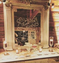 This mirror to welcome to you the #fallatthefarmhouse2015 event at Triunfo Creek! #calligraphykatrina #calligraphy @triunfocreek @calligkatrina @ilanaashley @brianleahyphoto @contemporarycatering @premiere_rents @images_lighting @lotusandlilyfloral @latavolalinen @cocktailconcierge @fantasyfrostings @onehope @hollywoodcandygirls @thefrygirlinc @longshotcoffee @voxdjs @thereplicasmusic @smilelounge @beinspiredpr