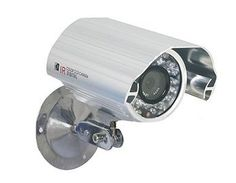 """PAL TV System 1/3"""" SONY Color CCD 420TV 6mm Lens CCTV Security Wired IR Waterproof Camera 7310SN by QLPD. $137.68. This waterproof camera is a powerful small security camera that doesn't draw attention and blends in well with its surroundings."""
