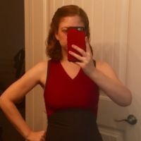 This VNA really does make her waist look small! What a bonus! Pattern Making, Workout Tops, Evening Gowns, Basic Tank Top, Sewing Patterns, Tank Tops, How To Make, Women, Fashion