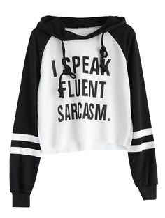 SHARE & Get it FREE   Unfinished Hem Text Print Cropped HoodieFor Fashion Lovers only:80,000+ Items • New Arrivals Daily • Affordable Casual to Chic for Every Occasion Join Sammydress: Get YOUR $50 NOW!