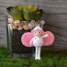 Cotton Candy Bug by dreamalittle7 on Etsy