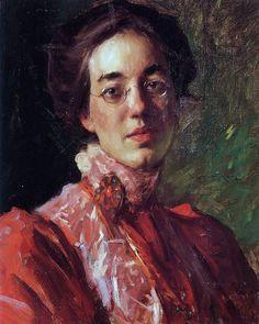 William Merritt Chase (1849-1916) Elizabeth Fisher 1899