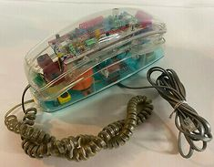 Find many great new & used options and get the best deals for Vintage 90s Unisonic Clear See Through Neon Phone Model 6900 Working EX Retro at the best online prices at eBay! Free shipping for many products! See Through, Neon, Free Shipping, Retro, Model, Vintage, Ebay, Products