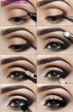 Wedding Makeup Looks for Brown Eyes | RIDAL EYE MAKEUP 2013 2014 | FashionDak Updates of Dressings ...