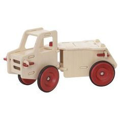 Haba Moover Dump Truck Riding Push Toy - 1008883