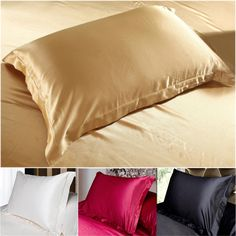 Find More Pillow Case Information about 100% Double Face Envelope Silk Pillow Case Silk Pillowcase Camel White Black Silk Satin Pillow Case Multiple Colors, 48*74 cm,High Quality pillows and pillow cases,China pillow case designs Suppliers, Cheap pillow from Oscar life store on Aliexpress.com