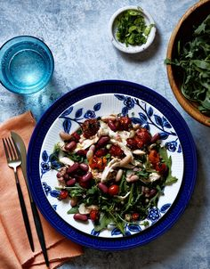 Jessica Koslow's Recipe for Chicken Salad With Shelling Beans and Roasted Tomatoes