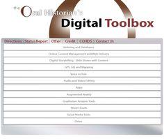 The Oral Historian's Digital Toolbox #familyhistory #storytelling