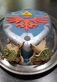 Zelda Cake, Homemade Cakes, How To Make Cake, Birthday Cake, Desserts, Food, Homemade Muffins, Birthday Cakes, Postres