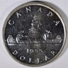 Top 10 Rare Silver Dollars My Road to Wealth and Freedom 1955 arnprior Silver Dollar The post Top 10 Rare Silver Dollars My Road to Wealth and Freedom appeared first on POSPO Investments. Silver Coins Worth, Silver Coins For Sale, Us Silver Coins, Silver Dimes, Silver Dollar Coin, Rare Coins Worth Money, Valuable Coins, Bullion Coins, Silver Bullion