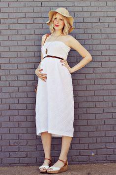 Maternity Sundress by A Beautiful Mess
