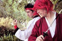 Sanosuke and Kenshin - Rurouni Kenshin Cosplay