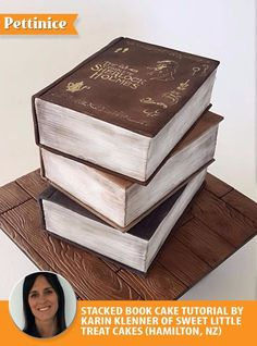 Pettinice | Book cake tutorial with Karin Klenner