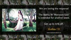 The #Sale has been extended for another week. Thank you for the wonderful response.