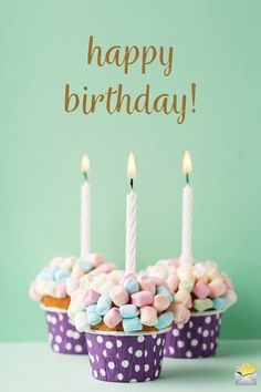The best Happy Birthday Images - Happy Birthday Funny - Funny Birthday meme - - Happy birthday image with cupcakes and candles. The post The best Happy Birthday Images appeared first on Gag Dad. Cool Happy Birthday Images, Happy Birthday Best Friend, Happy Birthday Wishes Quotes, Happy Birthday Cupcakes, Birthday Wishes And Images, Happy Birthday Candles, Happy Birthday Sister, Happy Birthday Greetings, Birthday Quotes