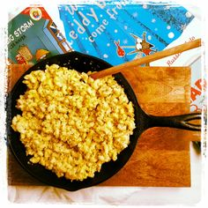Pumpkin & Hemp Macaroni & Cheese! #Hemp #MacAndCheese #Autumn