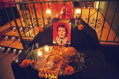 David Bowie Altar, Dia de los Muertos Party, Jardines de San Juan