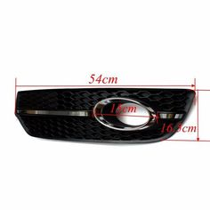 Fog Light Cover S Line Grill Black ABS Plastic and Chrome for VW Audi Q5 2009-2011 Sale - Banggood.com Interior Wood Stain, Light Covers, Goods And Service Tax, Car Audio, Interior Accessories, St Kitts And Nevis, Automobile, Chrome, Abs