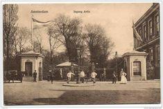 Amsterdam Ingang Artis aan de Plantage Kerklaan, 1905