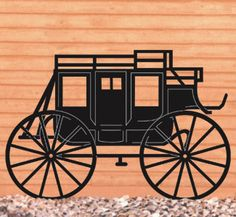 Stagecoach Shadow Woodcrafting Pattern
