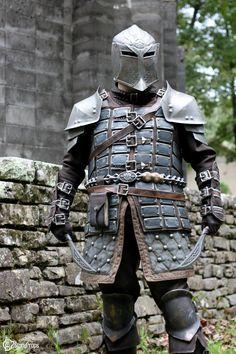 Skyrim Dawnguard Heavy Armor by torsoboyprops