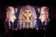 Ashton became involved in the project via Egyptian producer Ashraf Haridy, who was aware of The Projection Studio's previous work and recommended him to the show producers, who wanted to up the production values at this year's Awards.
