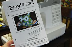 {Trey's EASY Owl} Hang onto your hats, this is the easiest  (love you beginners!),  fastest, and cutest free owl epattern and tutorial ar...