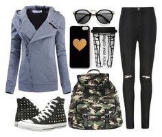 """""""Casual Style"""" by tidestore-club ❤ liked on Polyvore featuring Converse, Ally Fashion, Dot & Bo, Wet Seal, casualoutfit, Hoodies and tidestore"""