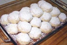 Kourambiathes (Greek Wedding Cookies)