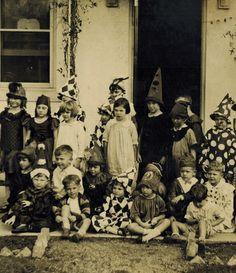 School Halloween Party c.1928