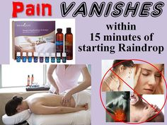 Raindrop Therapy is a powerful, non-invasive, application of powerful antibacterial and antiviral Young Living Therapeutic Grade Essential Oils along the spine and feet.