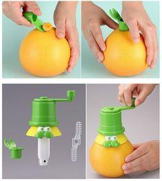 churn out fresh orange juice