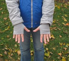 Jacket sleeves too short?  This tutorial shows how to extend the sleeves and as a plus turn the addition into fingerless gloves.