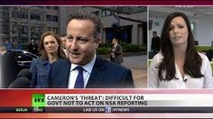 """ Publish & be damned! "" Cameron threatens media over NSA leaks"