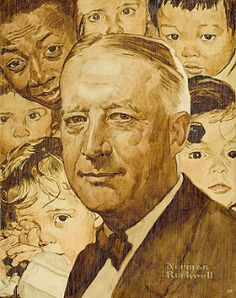 1945 ... 'Al Smith' - Norman Rockwell | by x-ray delta one