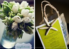 #tulip bouquet #welcome bag #beach wedding