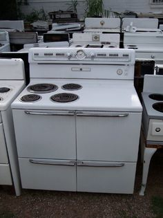 1955 Ge Liberator Electric Double Oven Range And It S
