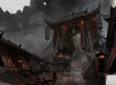 ArtStation - The gates of hell, lok du